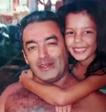 Myrella Salvador Perciano de Oliveira, filha de Sebastião, na época tinha apenas 10 anos. Crédito: Reprodução