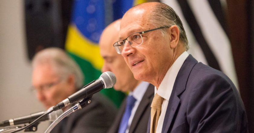 Alckmin. Crédito: Reprodução
