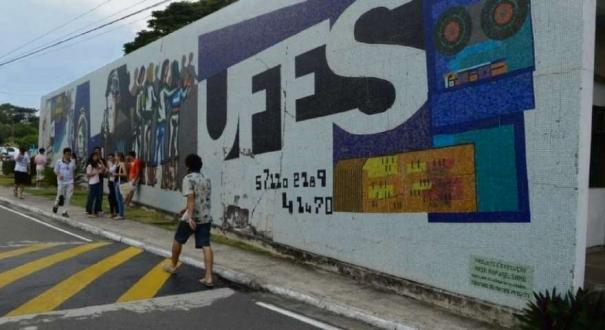 Campus da Ufes em Goiabeiras corte de recursos