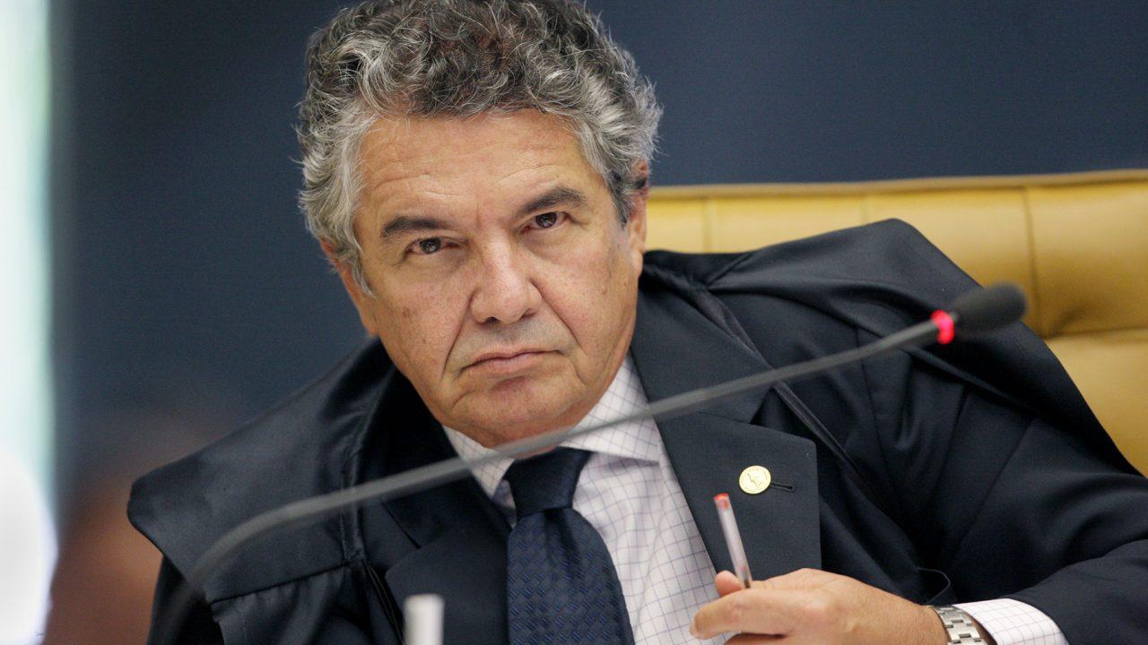 O ministro Marco Aurélio Mello. Crédito: Reprodução/Web