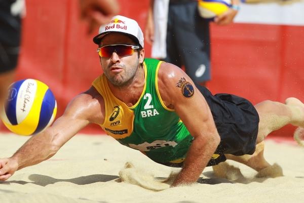 Bruno Schmidt Mundial de vôlei de praia