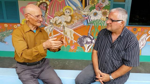 Todo o empenho de Agostinho Bastianello foi inspiração para o aposentado Eurico Scaramussa produzir documentário. Crédito: Divulgação