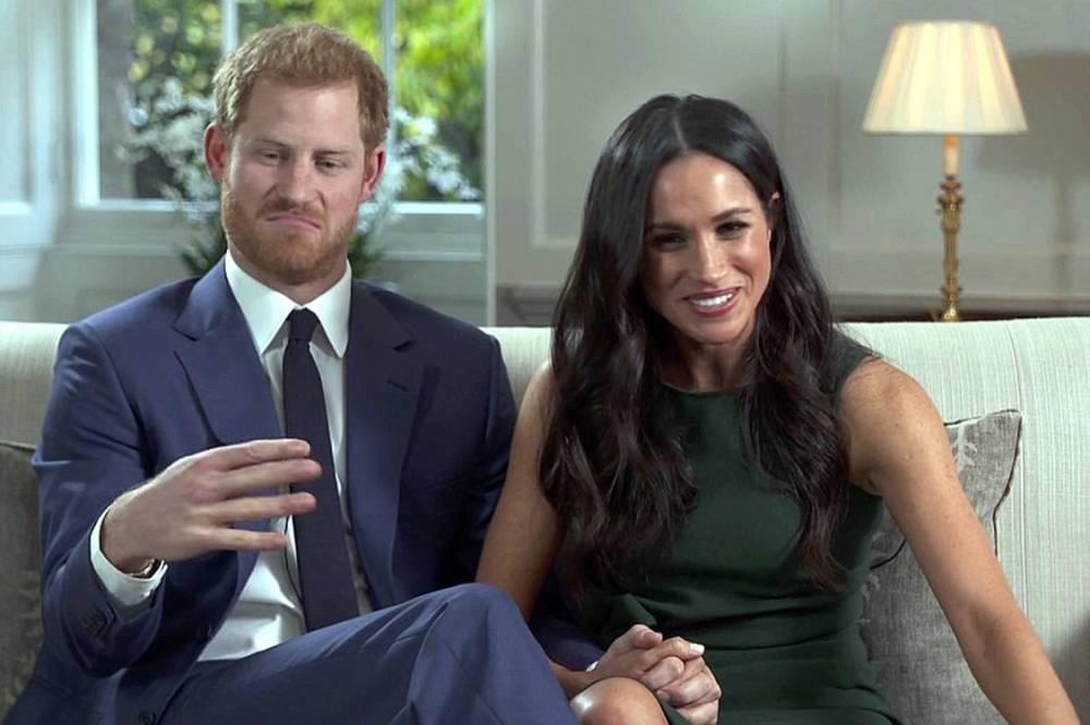 Príncipe Harry e Meghan . Crédito: Divulgação