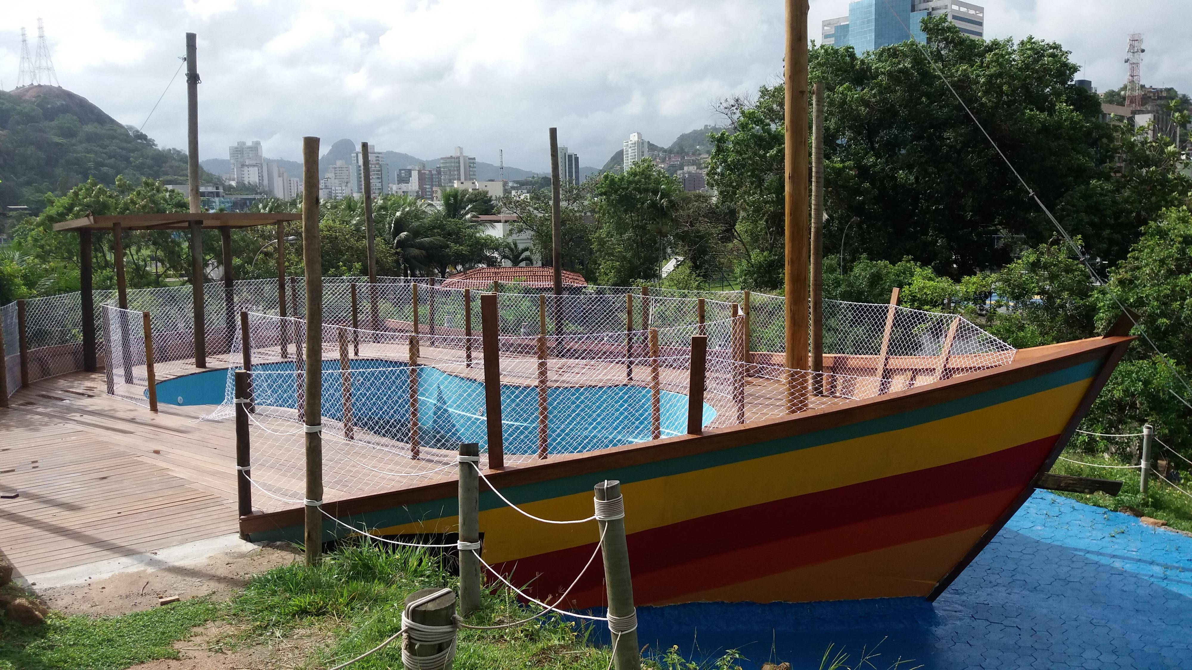 Tanque barco no Projeto Tamar. Crédito: Divulgação/Projeto Tamar