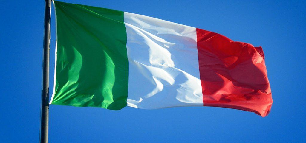 Bandeira da Itália. Crédito: Reprodução | Internet