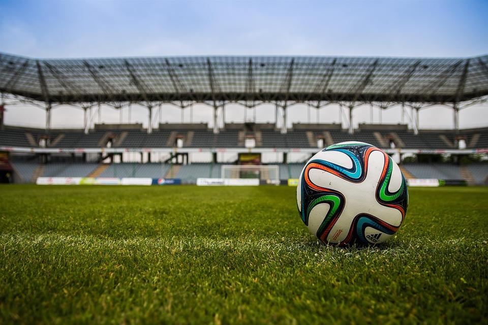 Bola de futebol. Crédito: Pixabay