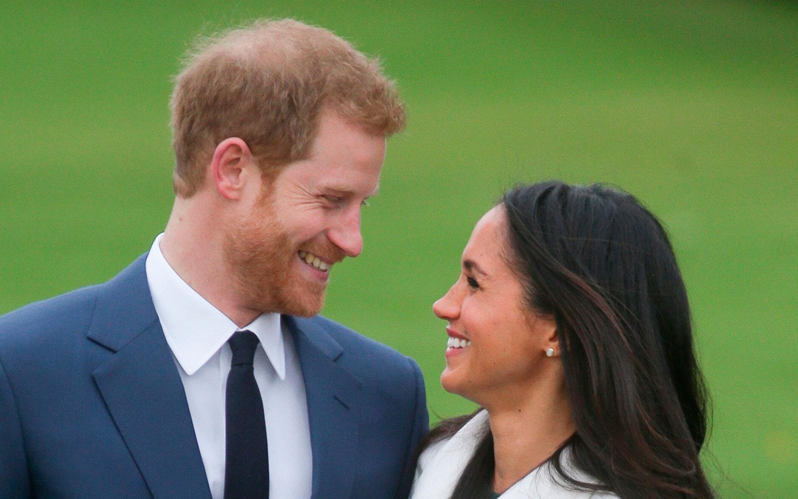 Meghan Markle e o príncipe Harry. Crédito: Reprodução