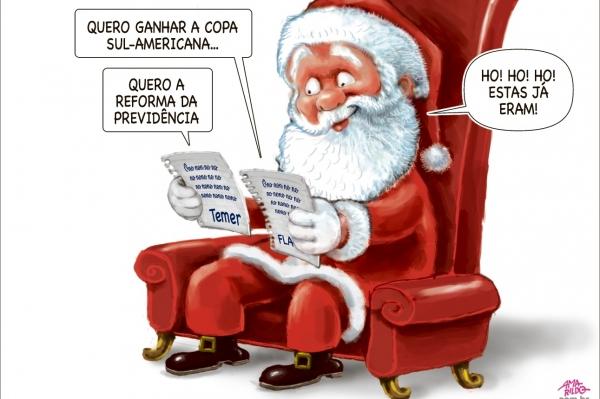 Charge do Amarildo - 15/12/2017