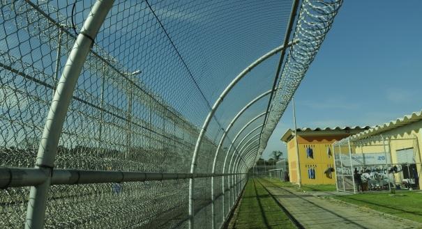 Penitenciária Estadual de Vila Velha III, que fica no Complexo de Xuri