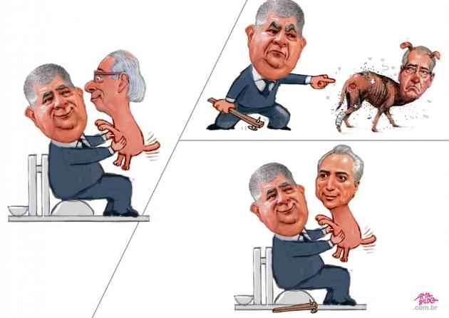 Charge do Amarildo - 18/12/2017
