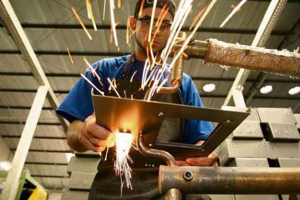 Produção industrial puxou crescimento em outubro. Crédito: Reprodução/Jornal GGN