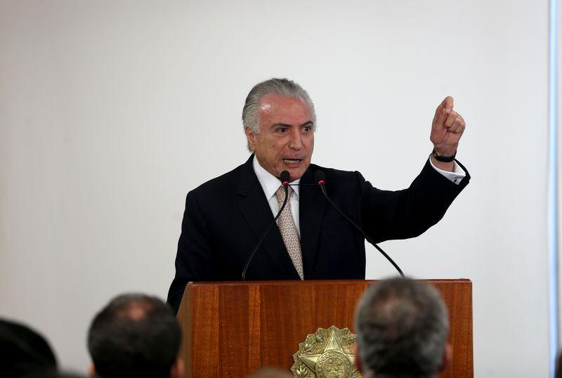 O presidente Michel Temer. Crédito: Wilson Dias/Agência Brasil