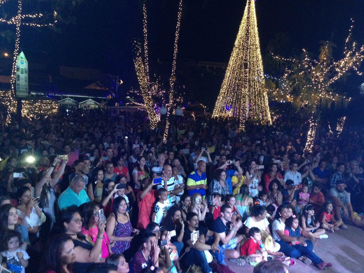 Brilho de Natal de 2017, em Domingos Martins. Crédito: Lilian Fuzato