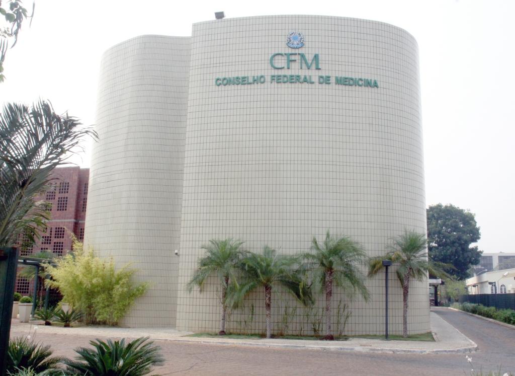 Sede do Conselho Federal de Medicina, em Brasília. Crédito: Divulgação CFM