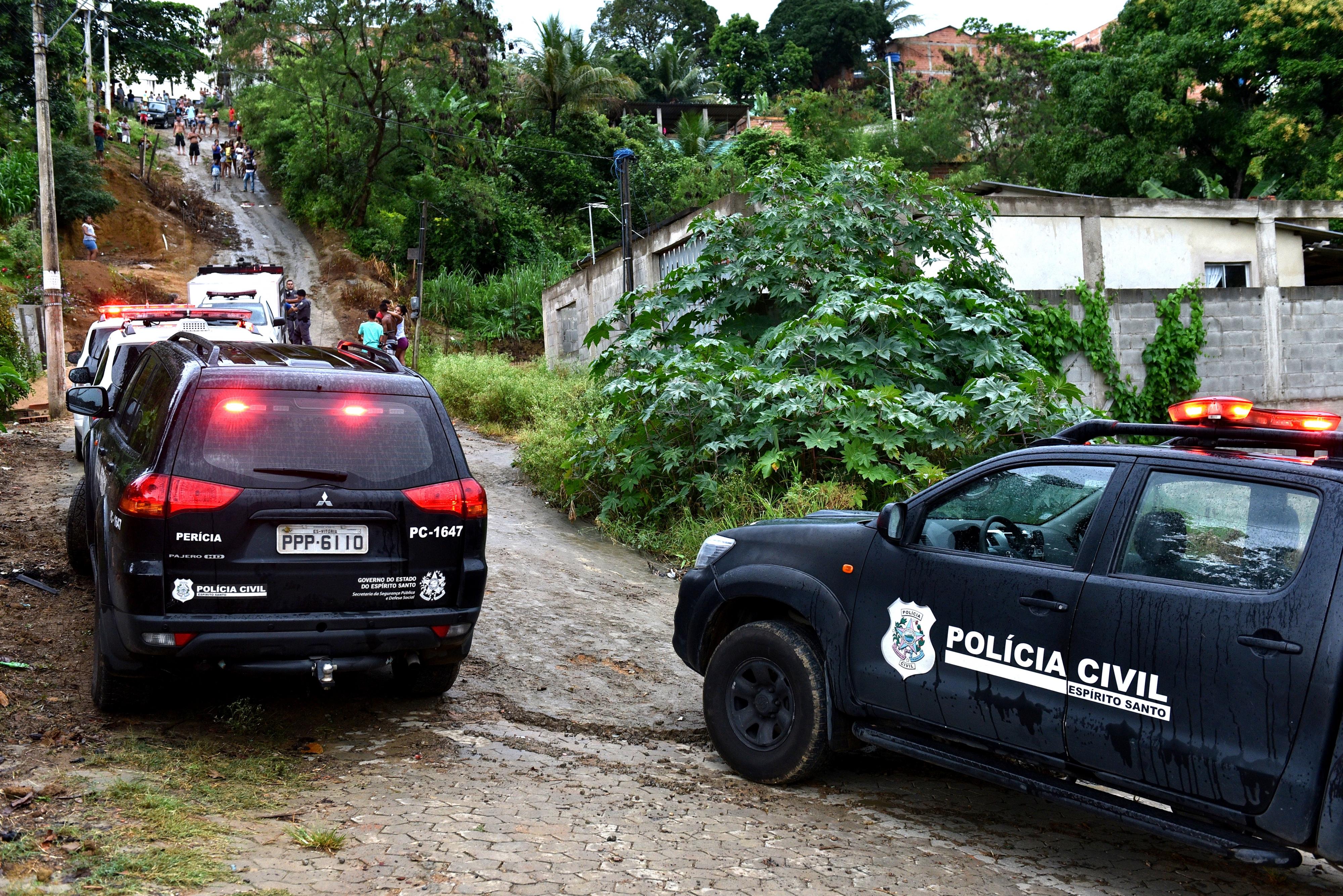 Mulher é morta a facadas em Nova Rosa da Penha, Cariacica. Crédito:    Fernando Madeira