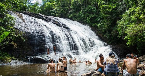Cachoeira de Buenos Aires, em Guarapari
