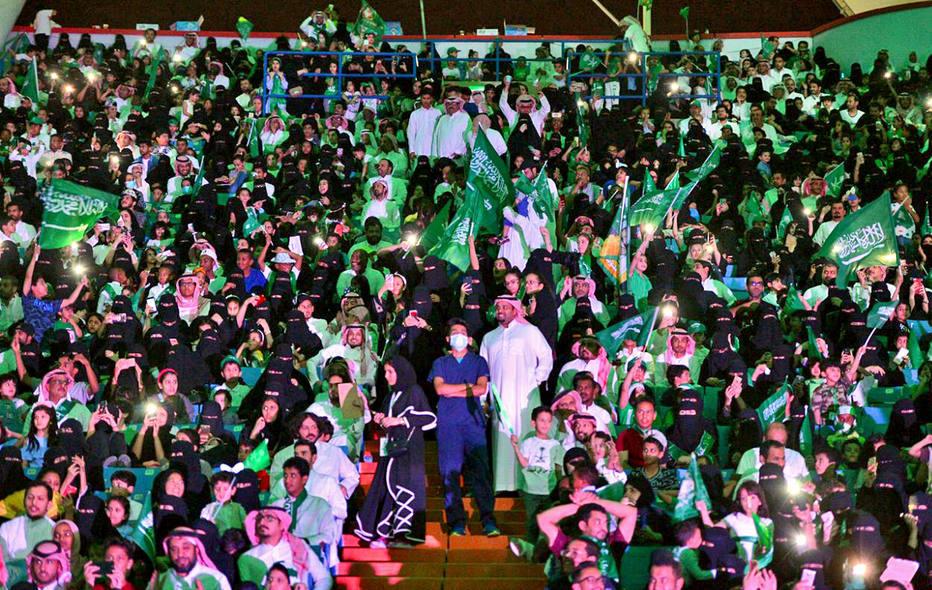 Arábia Saudita libera acesso de mulheres a estádios — Histórico