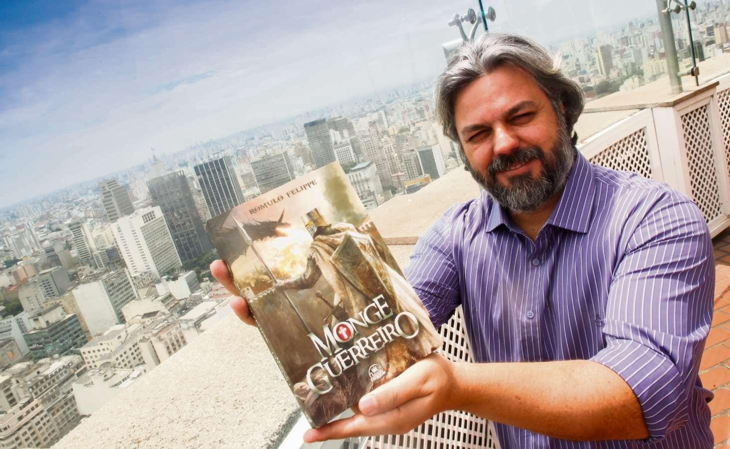 Romulo Felippe fez uma vasta pesquisa de campo para o livro. Crédito: Acervo Pessoal/Romulo Felipe