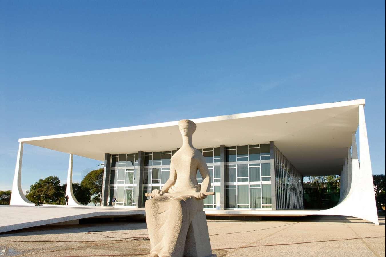 Sede do STF. Crédito: Divulgação/STF
