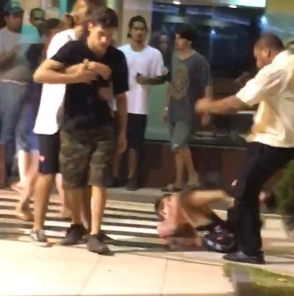 Vídeo mostra 'gêmeos do BBB' envolvidos em pancadaria, em Vitória