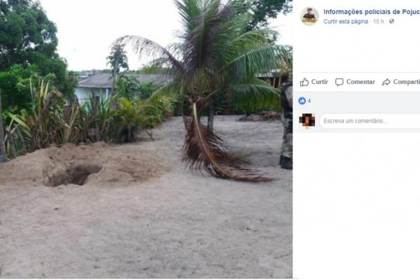 Cova onde casal foi encontrado foi cavada no quintal da casa das vítimas