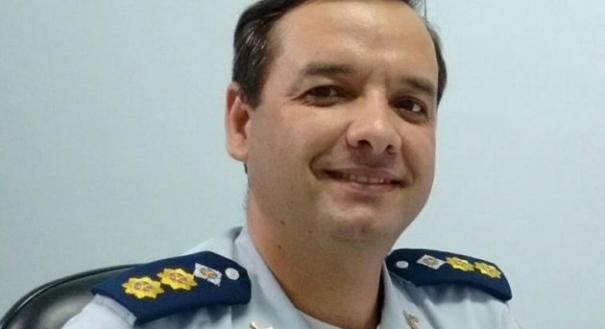 Tenente-coronel Foresti. Crédito: Facebook