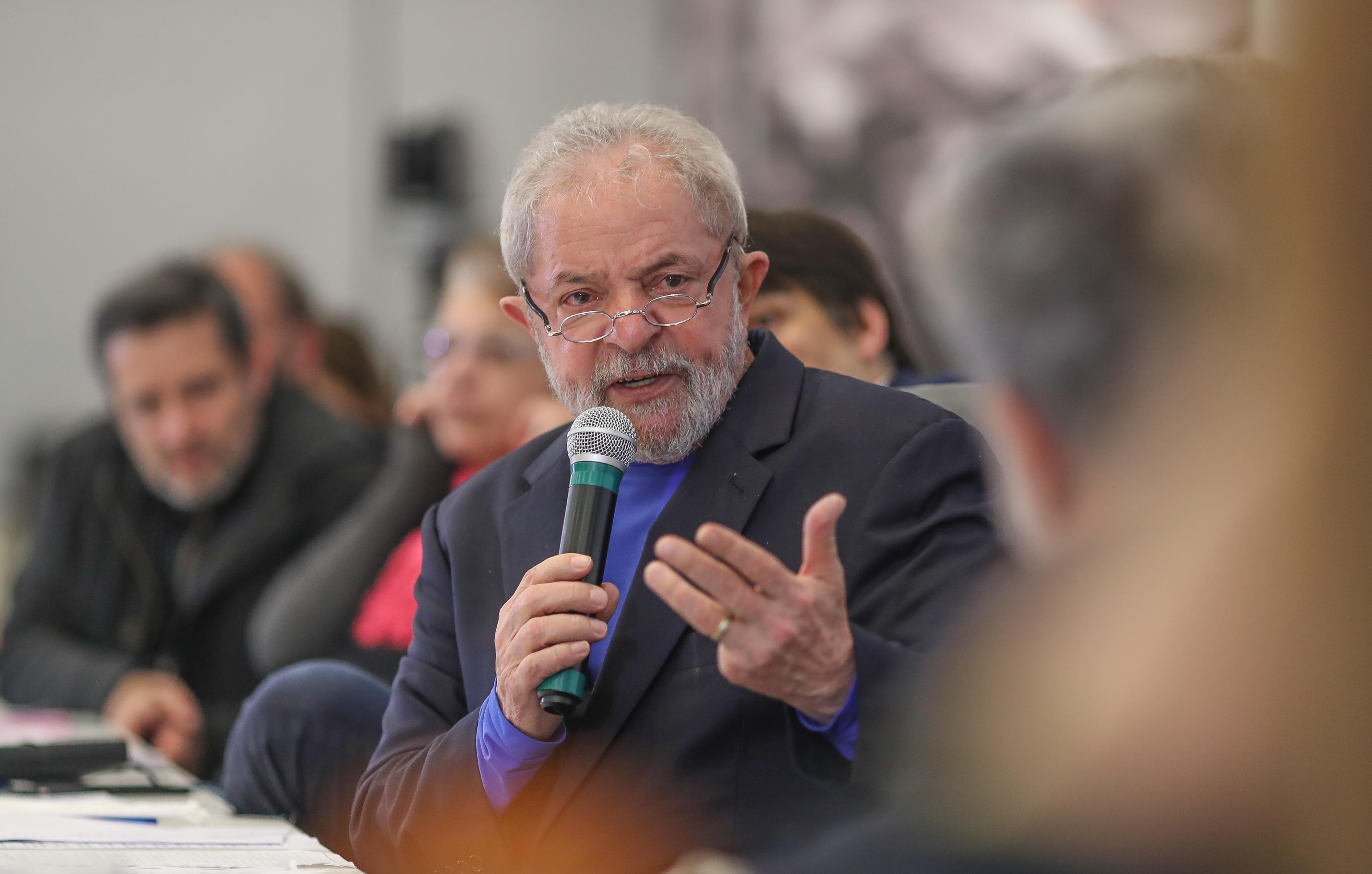 O ex-presidente Lula. Crédito: Ricardo Stuckert