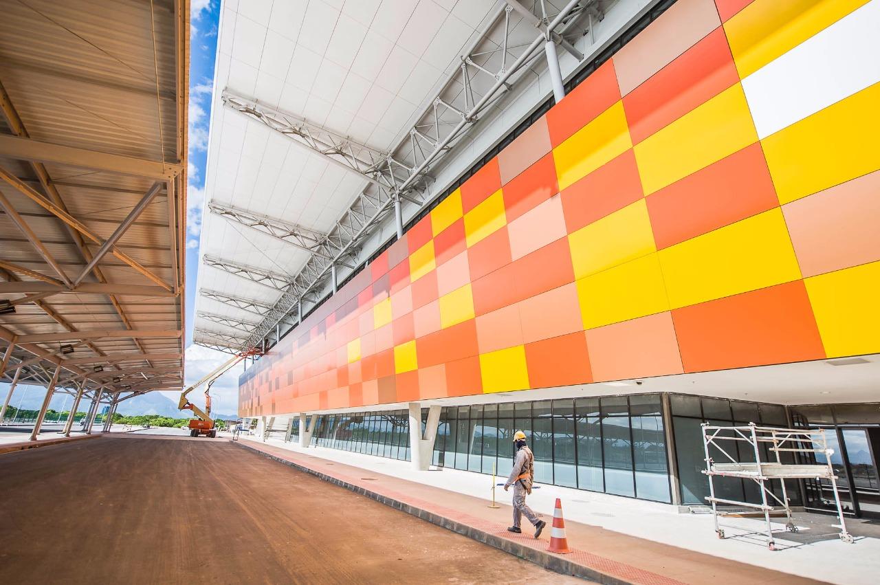Aeroporto de Vitória será entregue nesta quinta-feira (29)