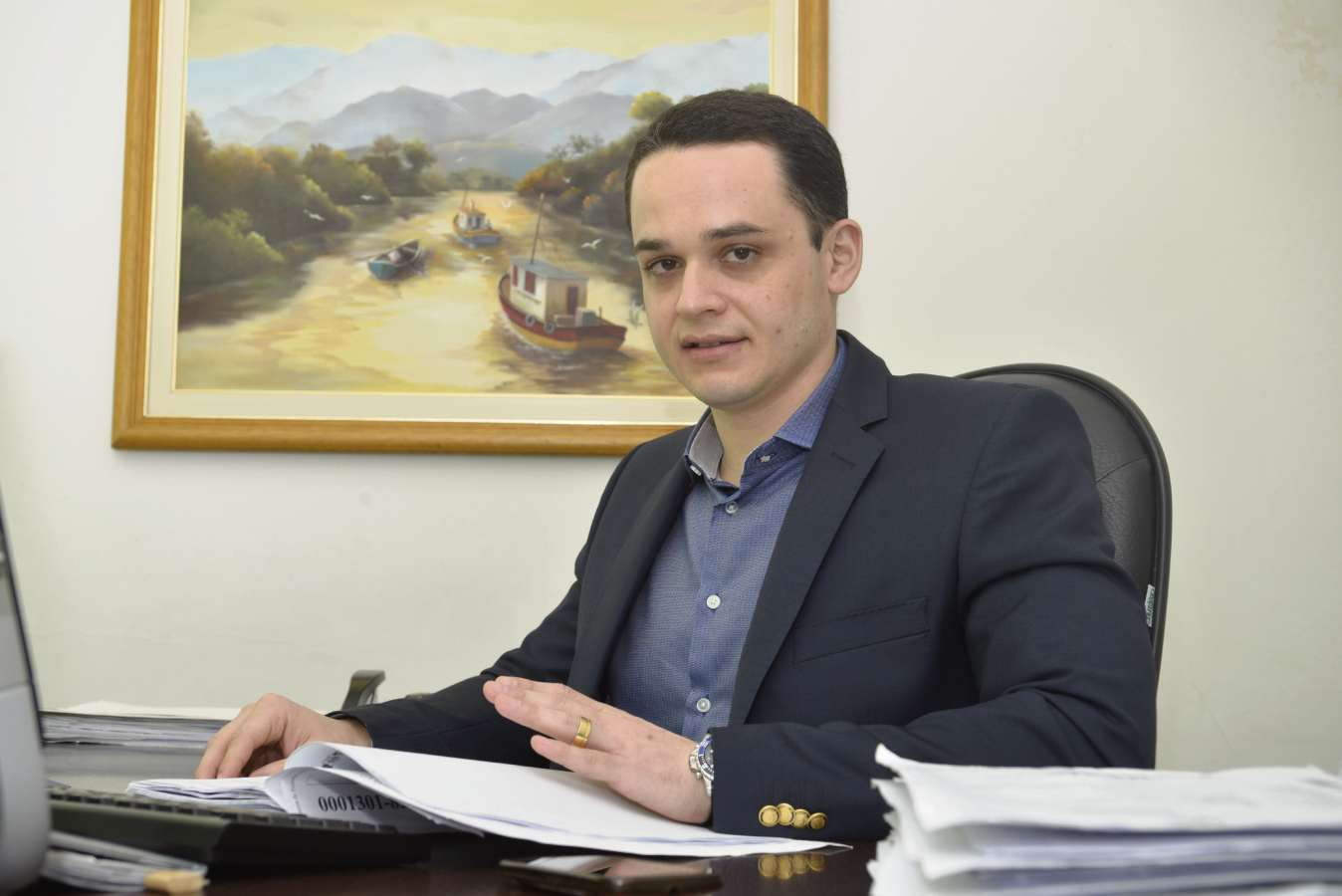 Delegado Lorenzo Pazolini. Crédito: Edson Chagas   Arquivo   GZ