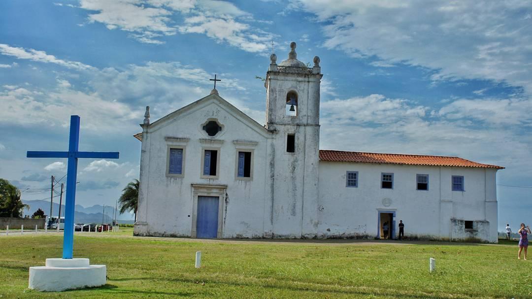 Igreja dos Reis Magos, em Nova Almeida, na Serra . Crédito: Reprodução/Instagram