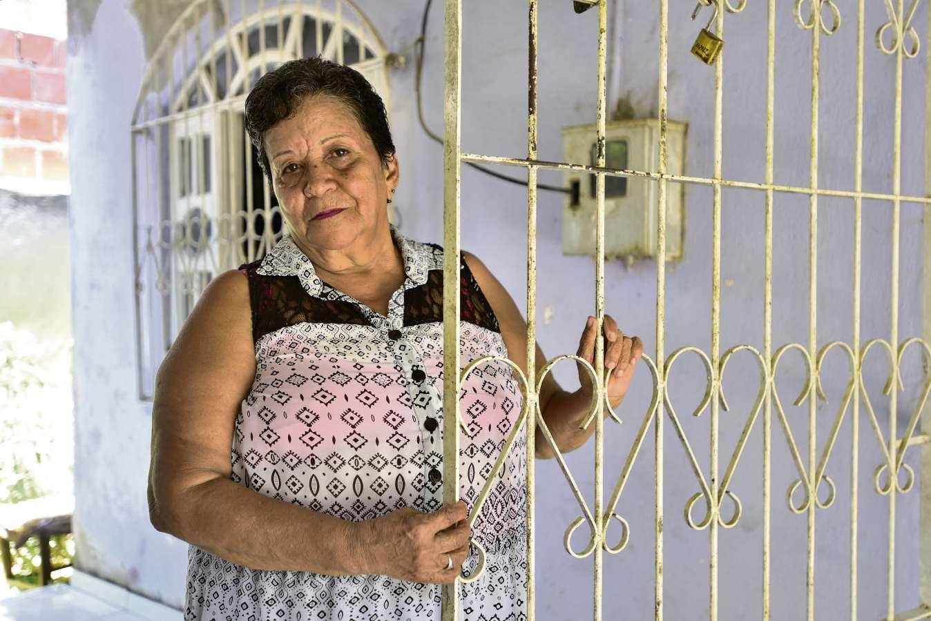 """Marcelo Prest  Maria do Rosário sofreu com o primeiro marido: """"Sou quase cega de uma vista por um soco que ele me deu""""  . Crédito: Marcelo Prest"""