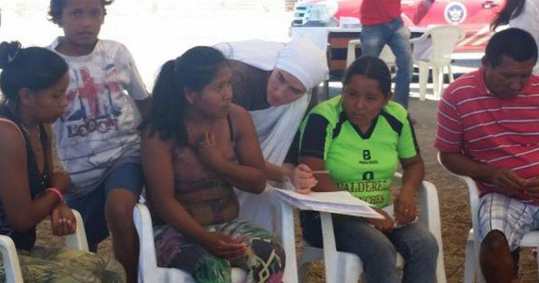Refugiados vindos da Venezuela. Crédito: Graziele Bezerra / Agência Brasil