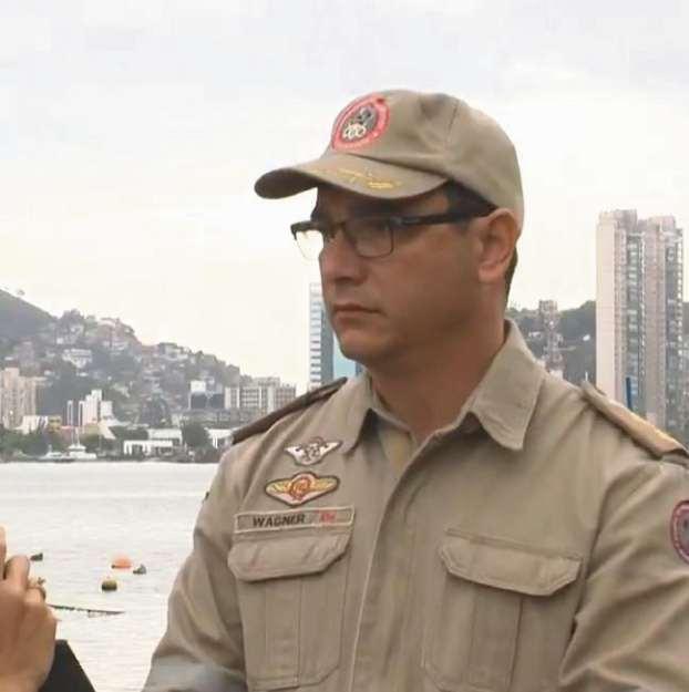 Carlos Wagner, tenente-coronel do Corpo de Bombeiros. Crédito: TV Gazeta | Arquivo