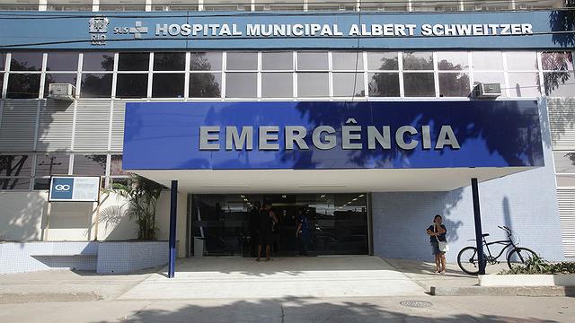 Fachada do Hospital municipal Albert Schweitzer, em Realengo. Crédito: Ricardo Cassiano | Prefeitura do Rio