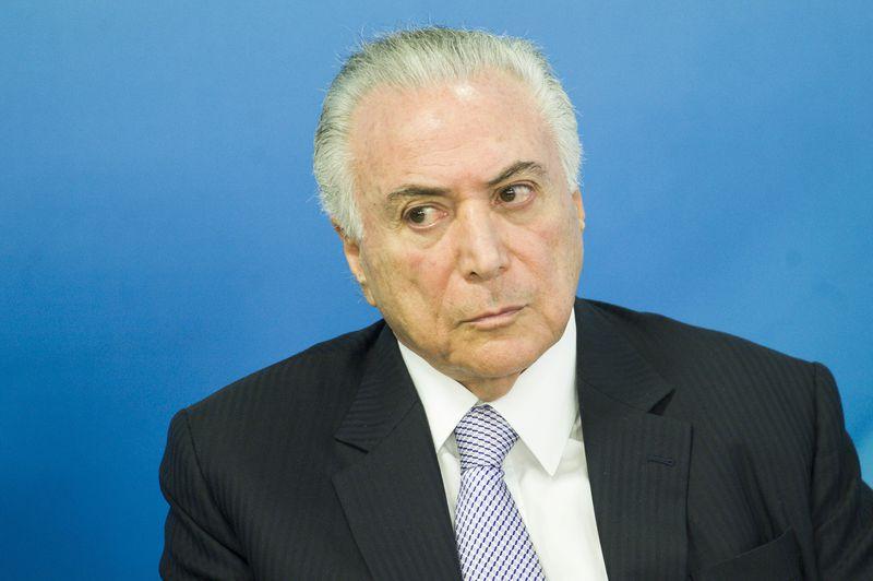 O presidente Michel Temer: decisão no Rio. Crédito: Marcelo Camargo/Agência Brasil