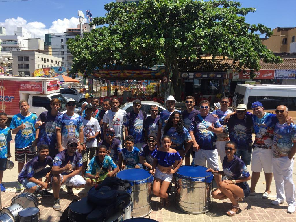 Mocidade Alegre de Olaria: carnaval de Guarapari começa neste sábado (10). Crédito: Arquivo pessoal/Gazeta Online