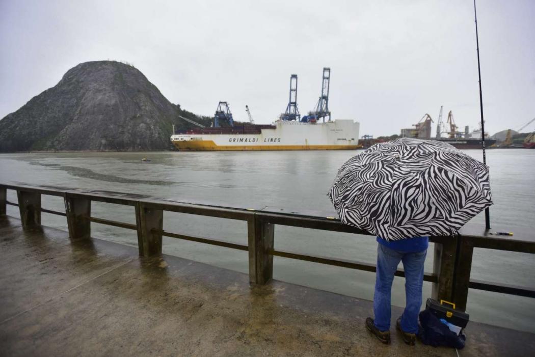 Grande Vitória também pode ter chuva. Crédito: Marcelo Prest