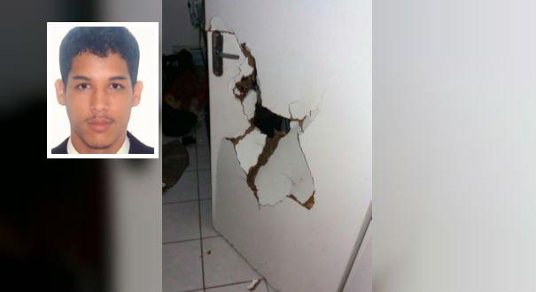 Arthur Henrique Gonçalves Silva foi assassinado a tiros dentro de apartamento no condomínio Ourimar. Crédito: Internauta | Gazeta Online