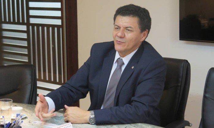 O presidente da Ajufe, Roberto Veloso. Crédito: Divulgação