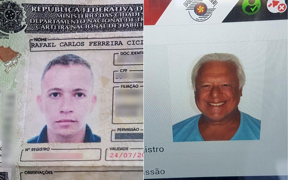 Motorista é preso portando carteira com CPF de Antonio Fagundes