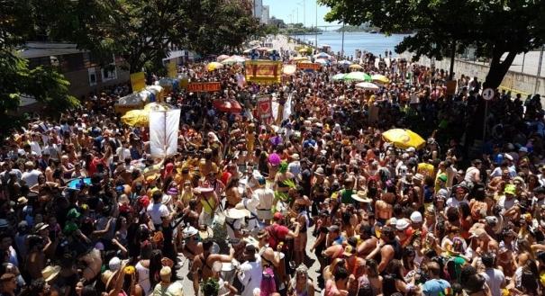 Bloco Regional da Nair, no Centro de Vitória, é um dos mais esperados para a folia. Crédito: Bernardou Coutinho   GZ
