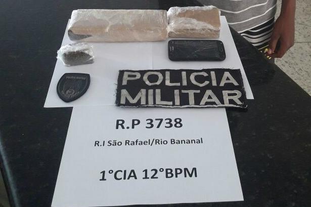 O suspeito foi conduzido à 16ª Delegacia Regional de Linhares