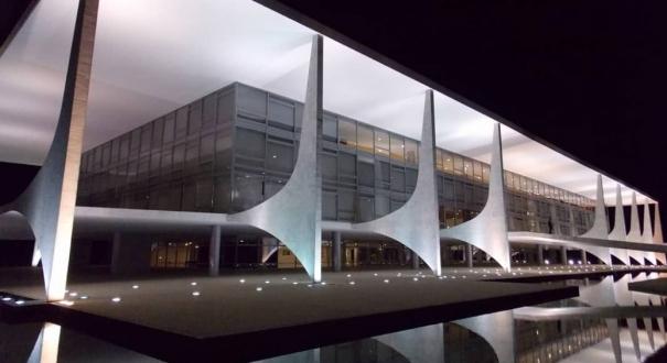 Palácio do Planalto em Brasília: sede do governo federal