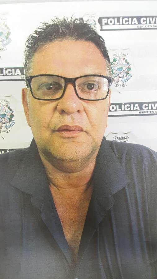 Mauro Merisio, 52 anos, se passou por funcionário de empresa de energia para tentar extorquir dinheiro de morador de Vila Velha. Crédito: Divulgação / PCES
