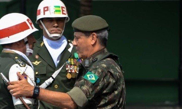 O general Walter Souza Braga Netto, que comandará a intervenção federal no Rio. Crédito: Reprodução/CML