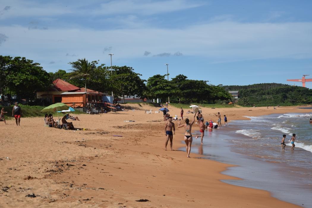 Barra do Sahy é a praia mais famosa de Aracruz. Crédito: João Paulo Rocetti