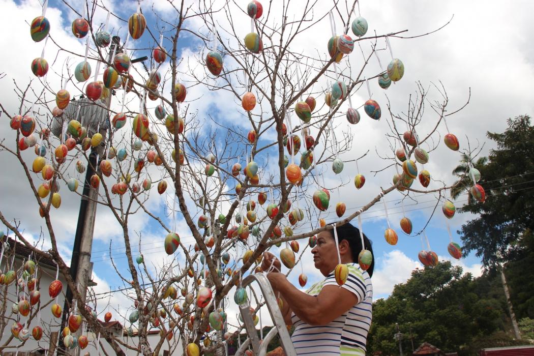 Domingos Martins inaugura Vila da Páscoa no dia 10 de março Cultura Gazeta Online -> Decoração De Pascoa Jardim