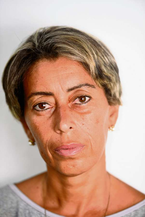 Luciene Martins, 47 anos, foi assediada dentro do ônibus. Crédito: Carlos Alberto Silva