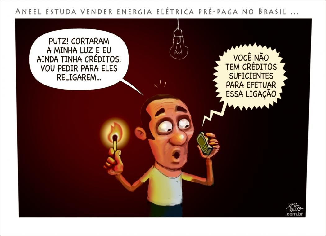 Charge do Amarildo - 05/03/2018. Crédito: Amarildo