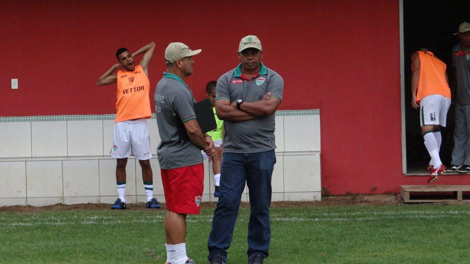 Mauro Soares deixa o Rio Branco VN. Crédito: Rio Branco VN/Divulgação
